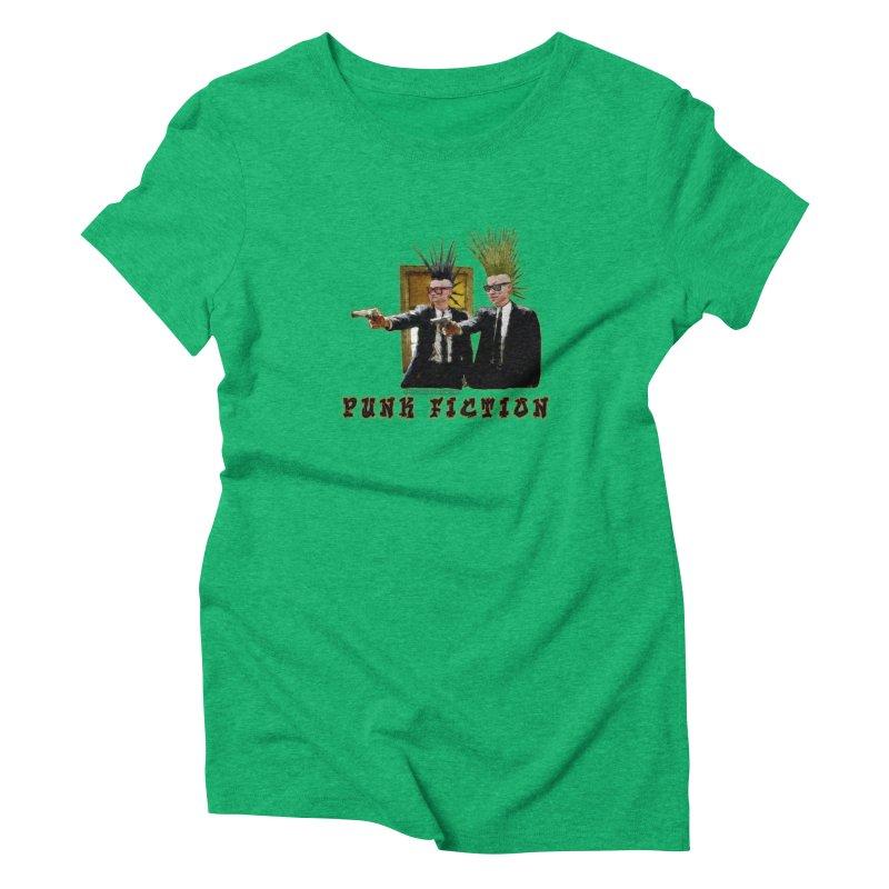 PUNK FICTION Women's Triblend T-Shirt by LazyBonesStudios's Artist Shop