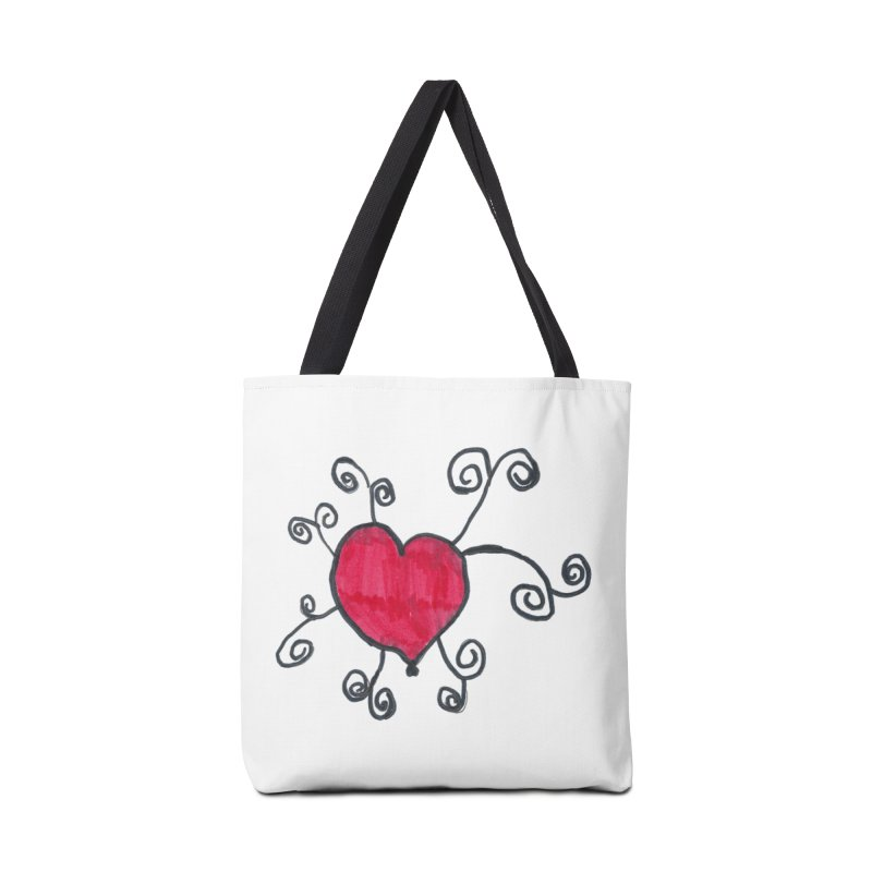 Spiral Love by Sophia Accessories Tote Bag Bag by Aaron LeBauer's Shop