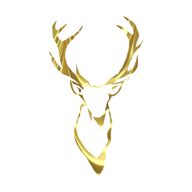 Gold Stag by LeahOwen's Artist Shop