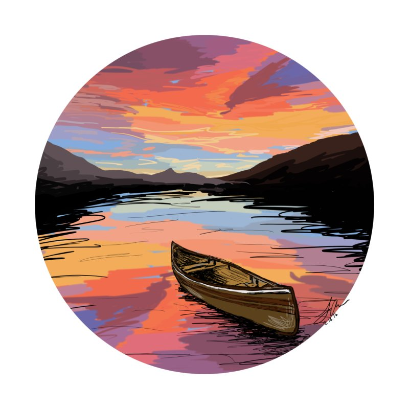 Canoe by LeahOwen's Artist Shop