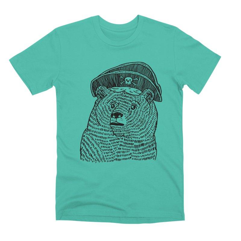 Pirate Bear Men's T-Shirt by Legendderry's Artist Shop