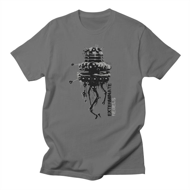 Dalek Probe Droid in Men's T-Shirt Asphalt by Legojeff's Shop