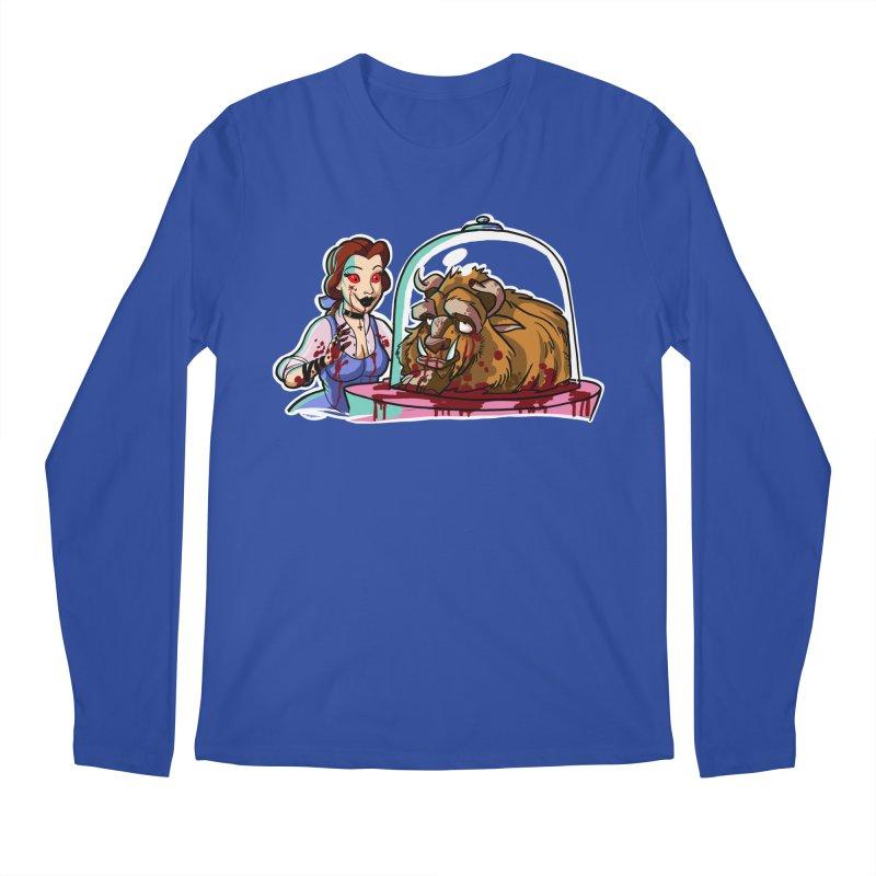 Hells Belle Men's Regular Longsleeve T-Shirt by Len Hernandez's Artist Shop