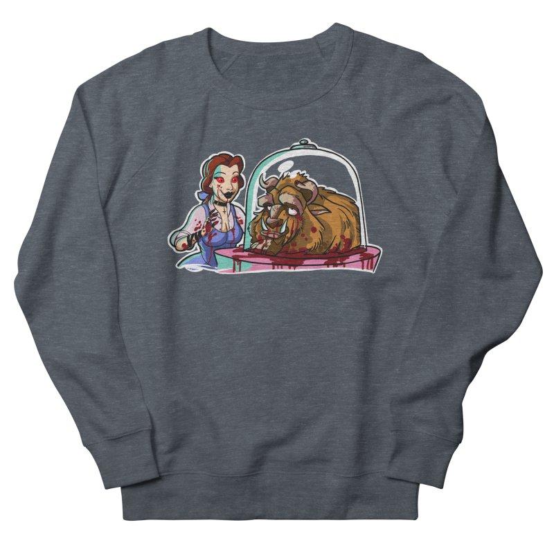 Hells Belle Men's French Terry Sweatshirt by Len Hernandez's Artist Shop