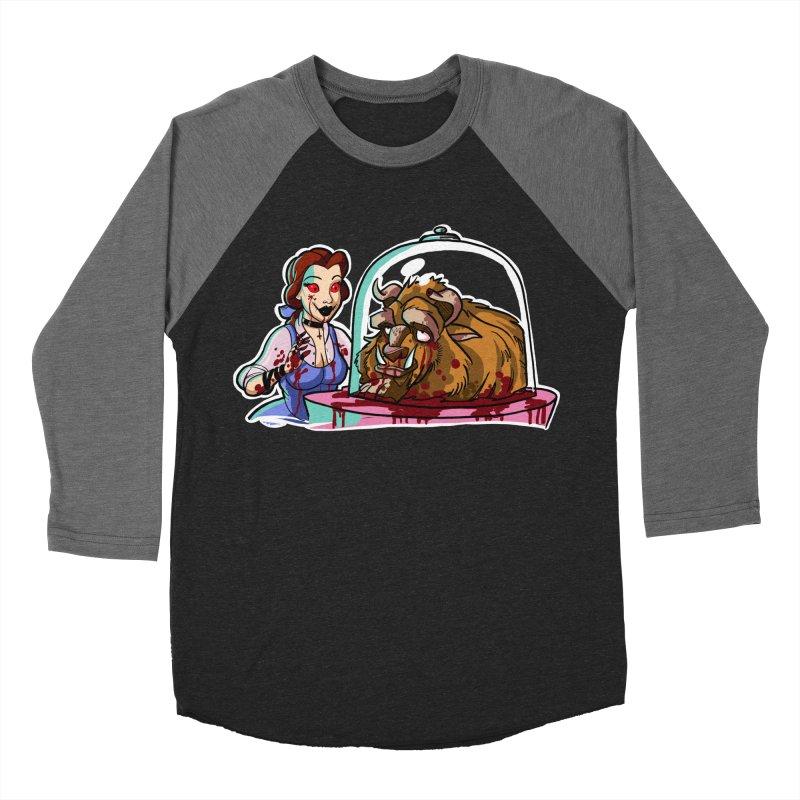 Hells Belle Men's Baseball Triblend Longsleeve T-Shirt by Len Hernandez's Artist Shop