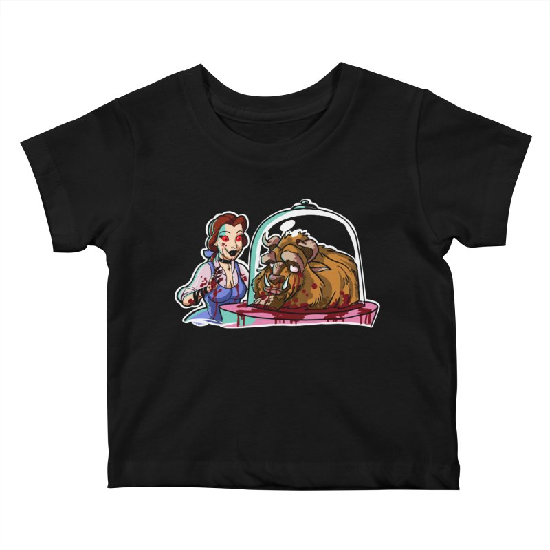 Hells Belle Kids Baby T-Shirt by Len Hernandez's Artist Shop