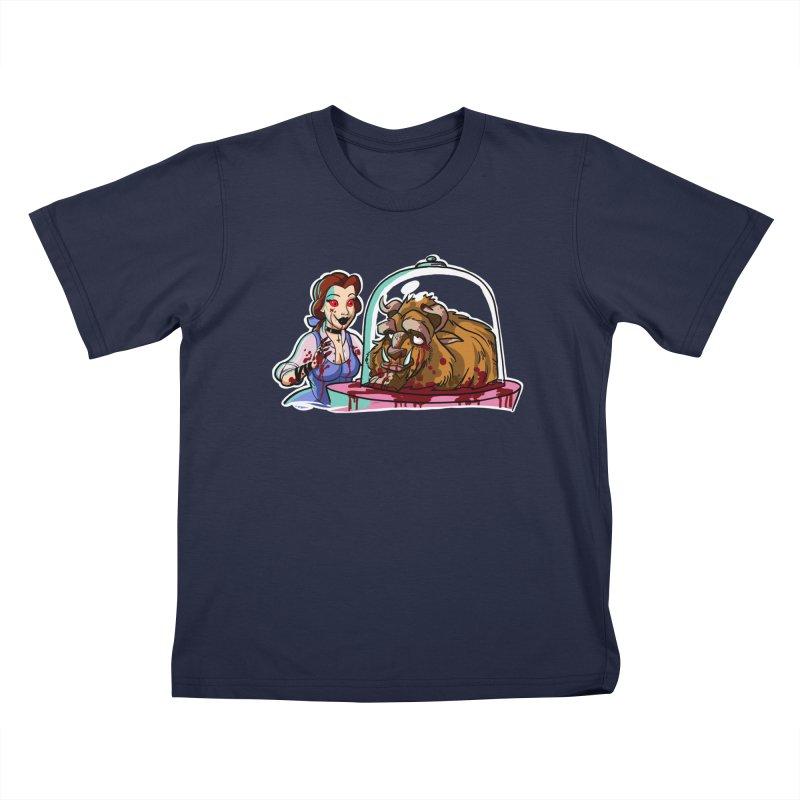 Hells Belle Kids T-Shirt by Len Hernandez's Artist Shop
