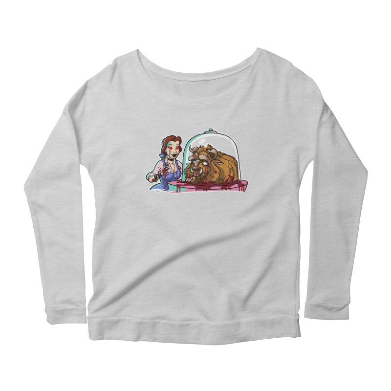 Hells Belle Women's Scoop Neck Longsleeve T-Shirt by Len Hernandez's Artist Shop