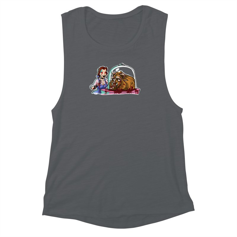 Hells Belle Women's Muscle Tank by Len Hernandez's Artist Shop