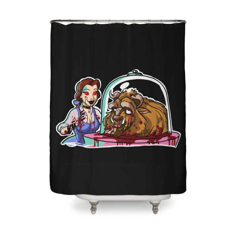 Hells Belle Home Shower Curtain by Len Hernandez's Artist Shop