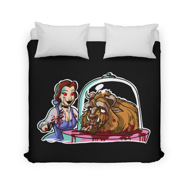 Hells Belle Home Duvet by Len Hernandez's Artist Shop