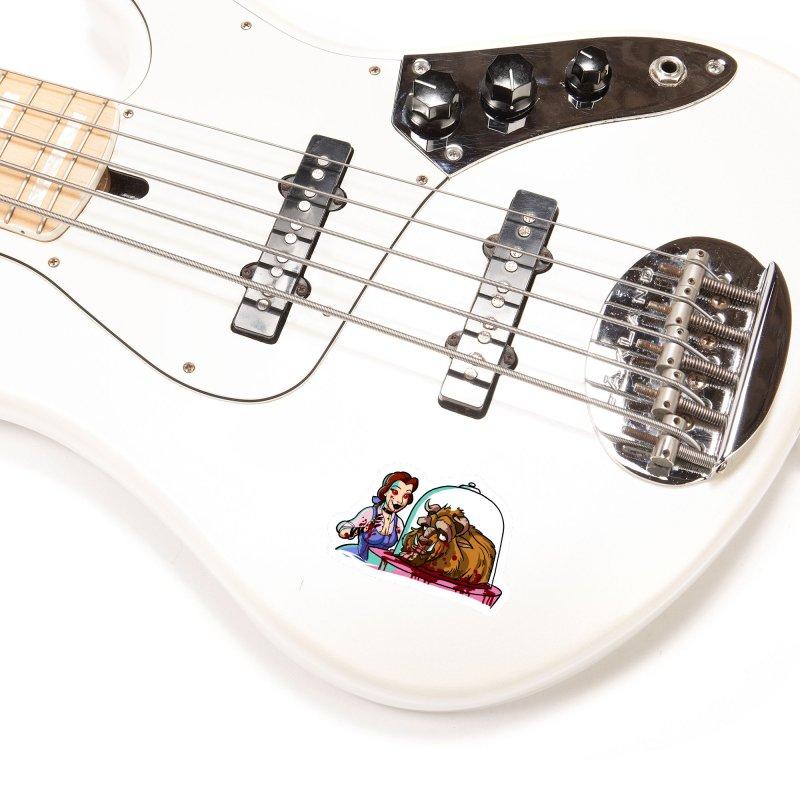 Hells Belle Accessories Sticker by Len Hernandez's Artist Shop