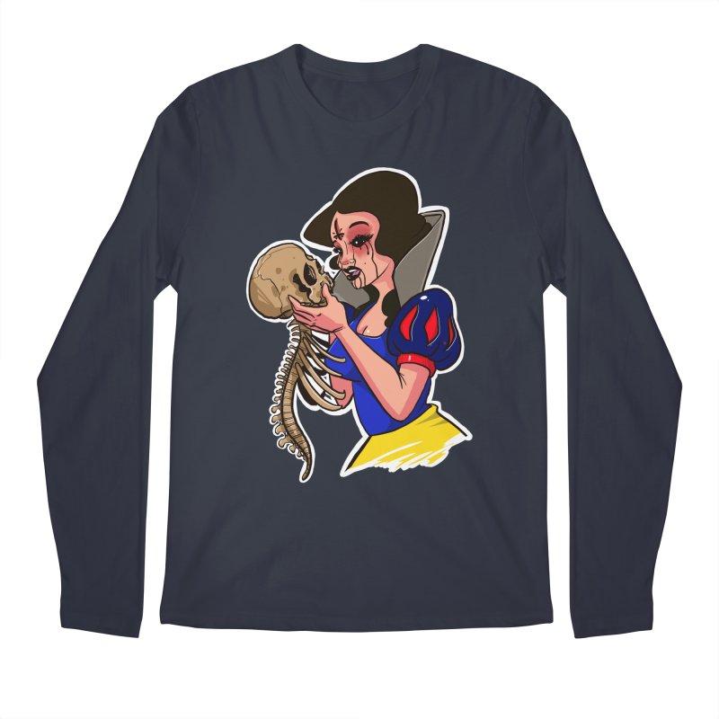 Devil's Snow Men's Regular Longsleeve T-Shirt by Len Hernandez's Artist Shop