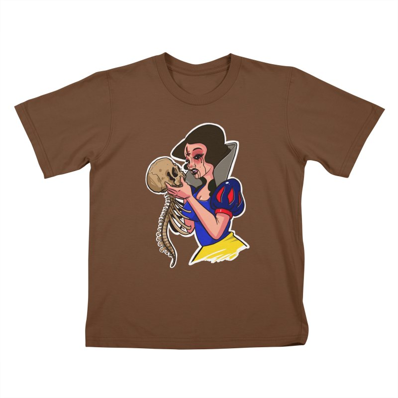 Devil's Snow Kids T-Shirt by Len Hernandez's Artist Shop