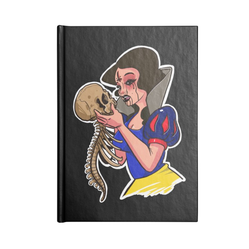 Devil's Snow Accessories Notebook by Len Hernandez's Artist Shop