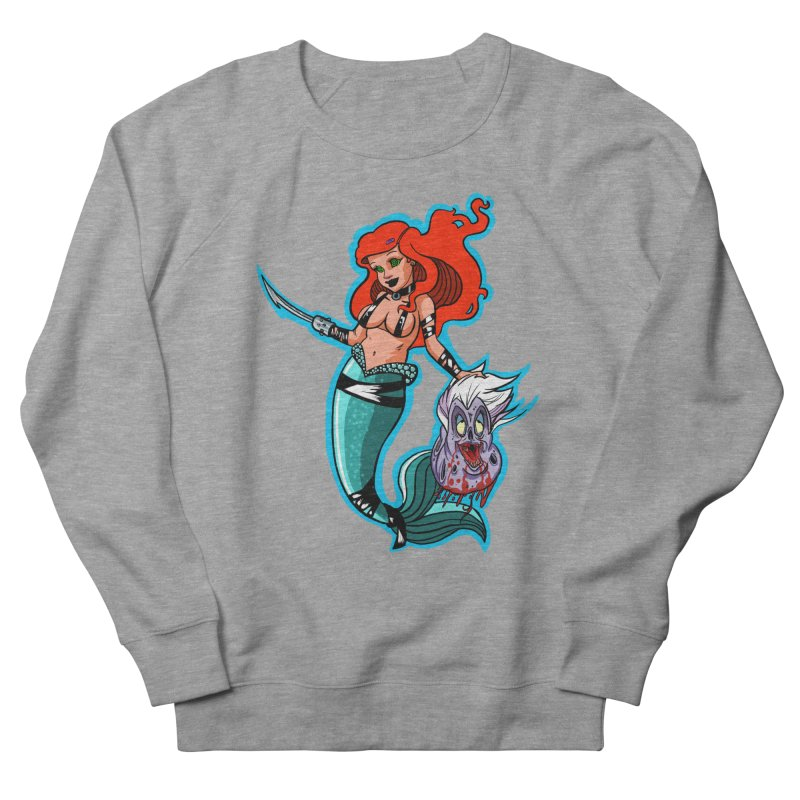 Sea Sinner Women's French Terry Sweatshirt by Len Hernandez's Artist Shop