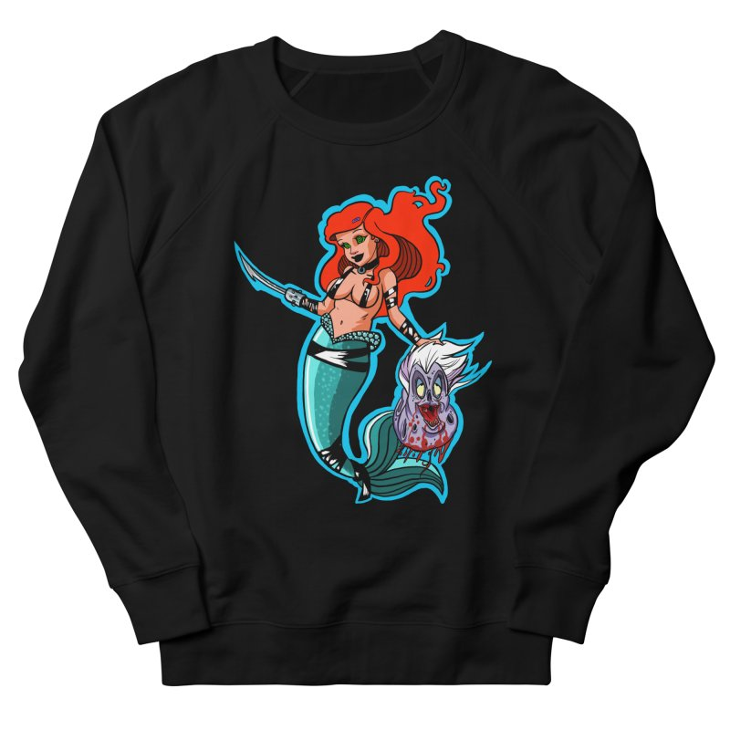 Sea Sinner Men's French Terry Sweatshirt by Len Hernandez's Artist Shop