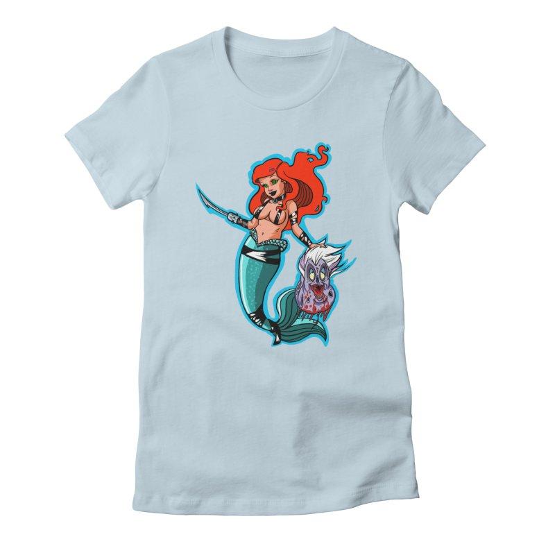 Sea Sinner Women's T-Shirt by Len Hernandez's Artist Shop