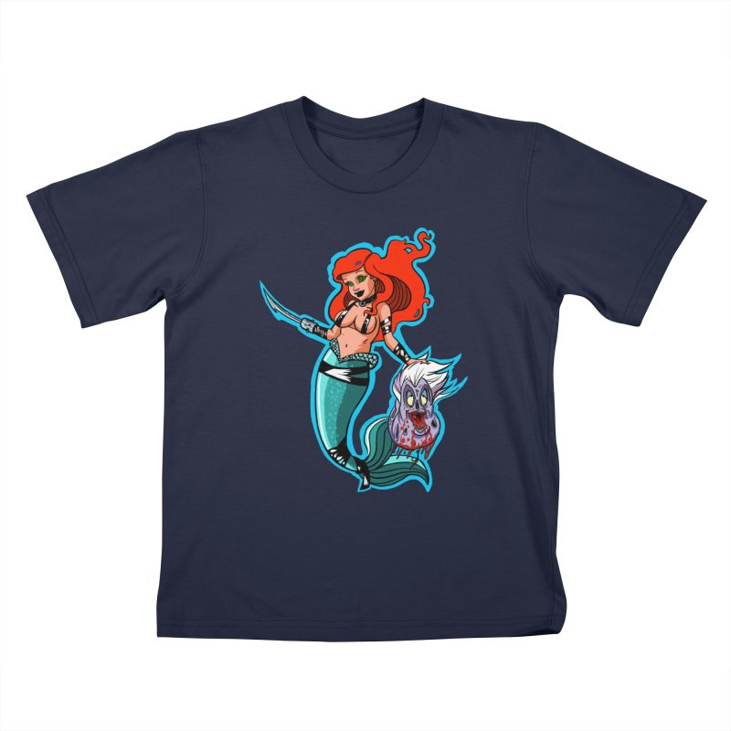 Sea Sinner Kids T-Shirt by Len Hernandez's Artist Shop