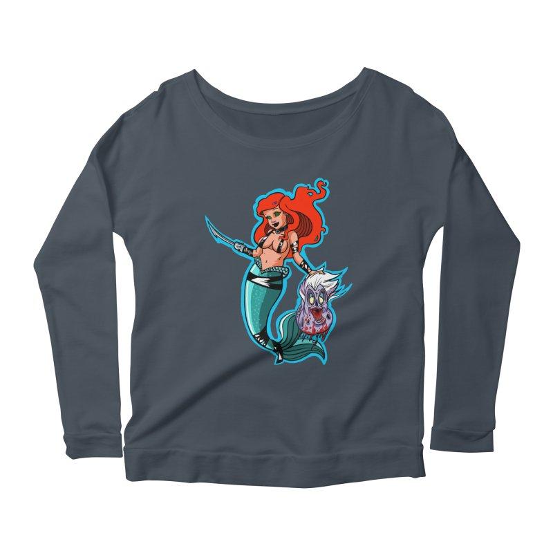 Sea Sinner Women's Scoop Neck Longsleeve T-Shirt by Len Hernandez's Artist Shop