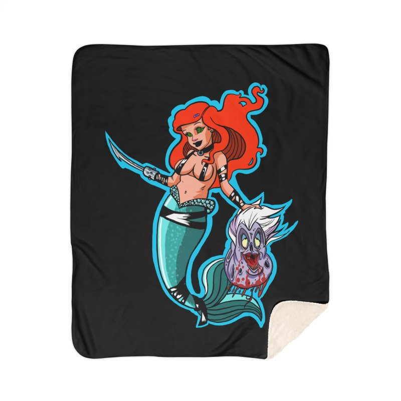 Sea Sinner Home Sherpa Blanket Blanket by Len Hernandez's Artist Shop