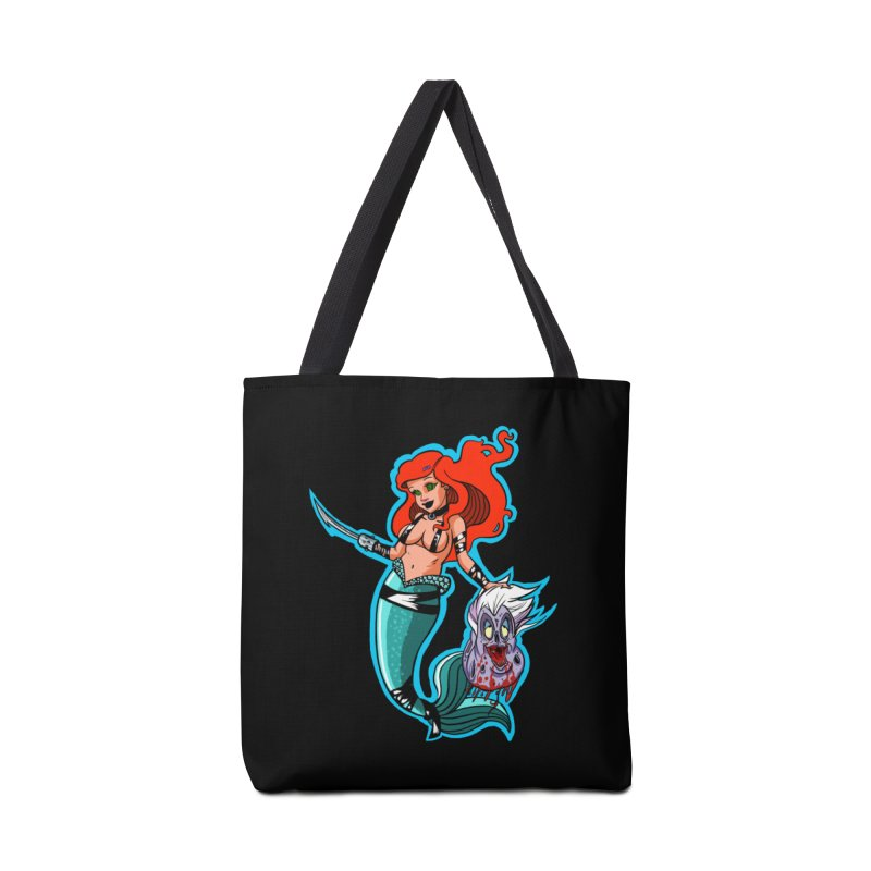 Sea Sinner Accessories Bag by Len Hernandez's Artist Shop