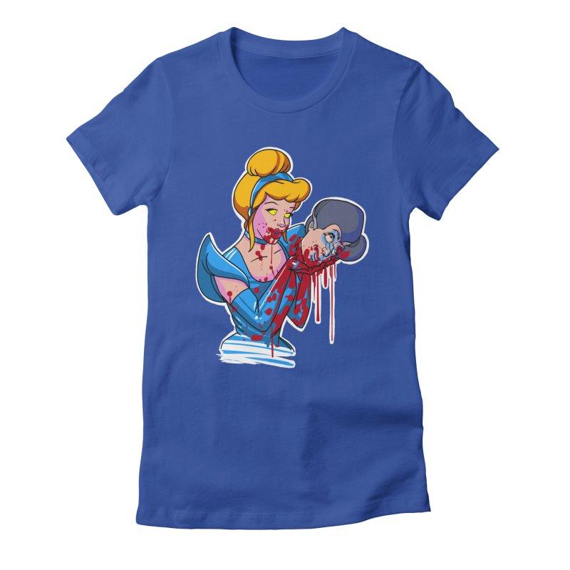 Sindee Women's Fitted T-Shirt by Len Hernandez's Artist Shop