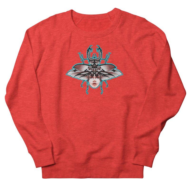 Beetle She Women's Sweatshirt by Len Hernandez's Artist Shop