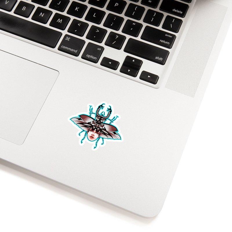 Beetle She Accessories Sticker by Len Hernandez's Artist Shop