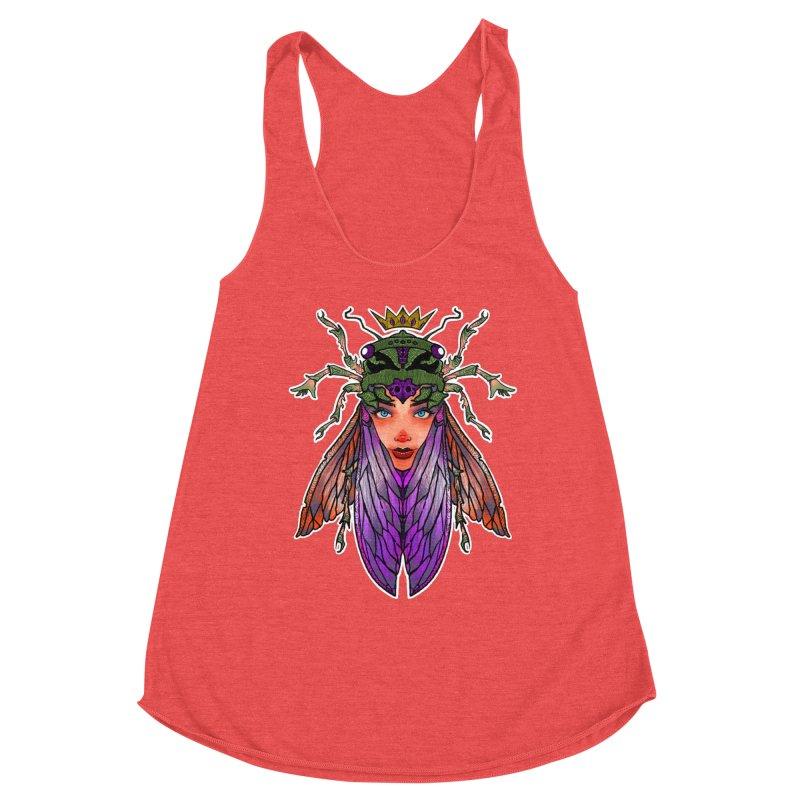 Madam Cicada Women's Tank by Len Hernandez's Artist Shop