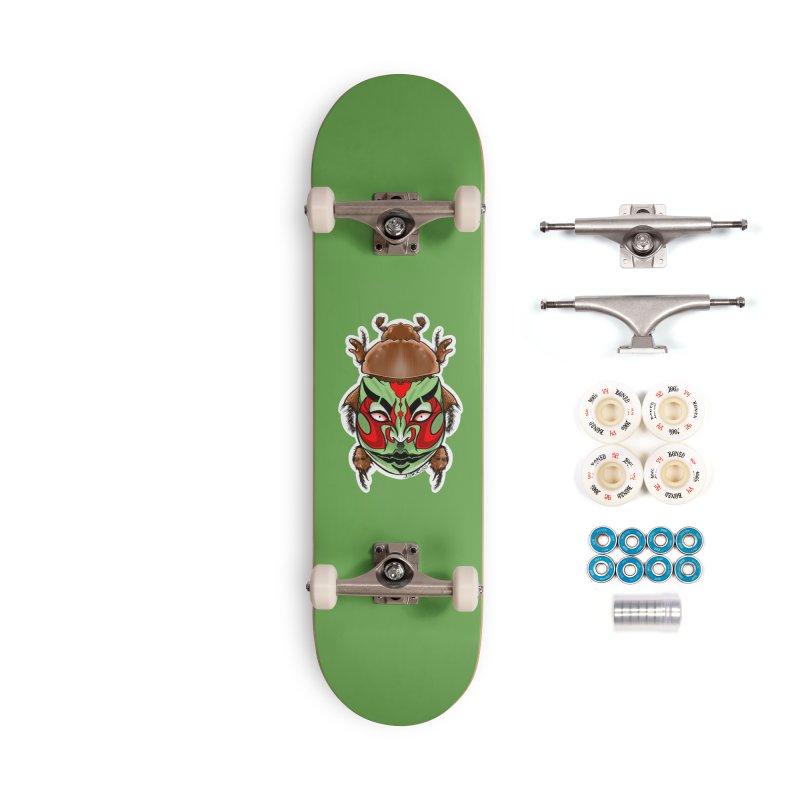 Kabuttle Accessories Skateboard by Len Hernandez's Artist Shop