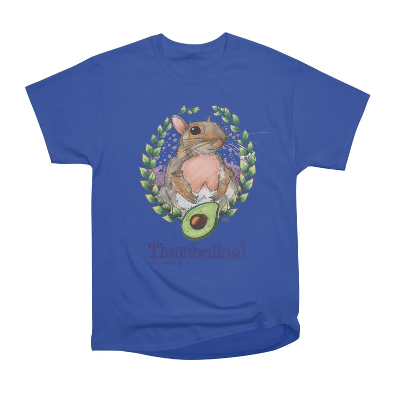 Thumbelina Shirts! Women's Heavyweight Unisex T-Shirt by Len Hernandez's Artist Shop