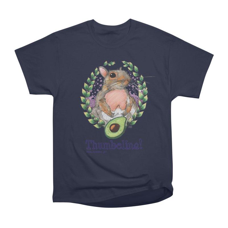 Thumbelina Shirts! Men's Heavyweight T-Shirt by Len Hernandez's Artist Shop
