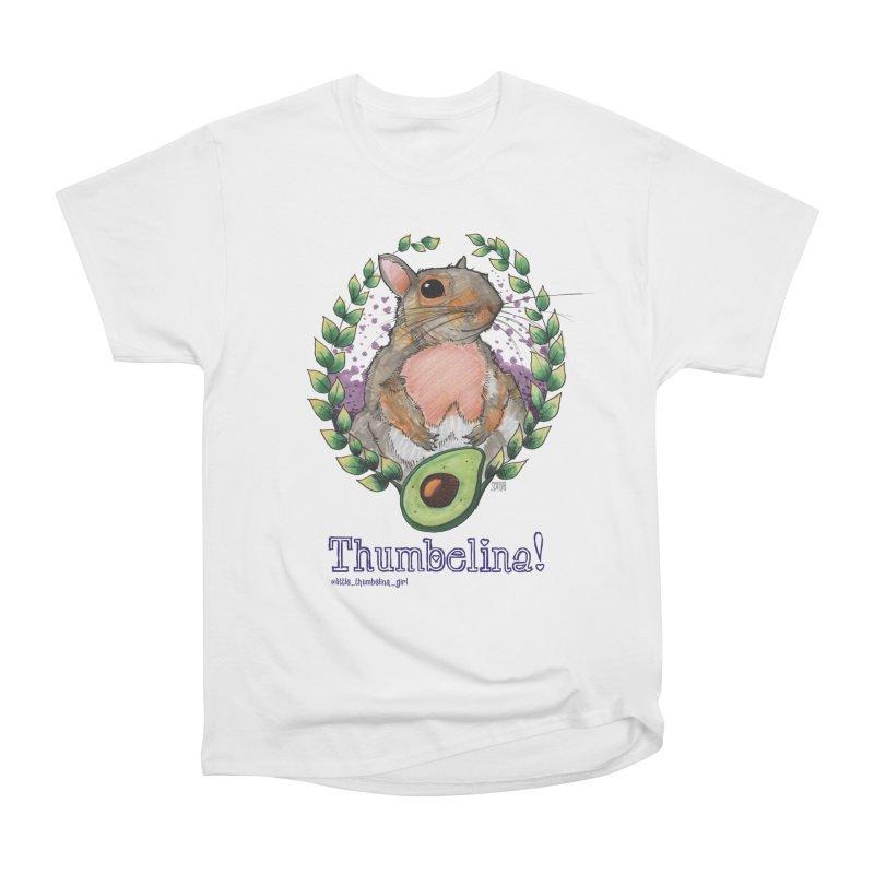 Thumbelina Shirts! Women's Heavyweight Unisex T-Shirt by Len Hernandez's Artist Shop