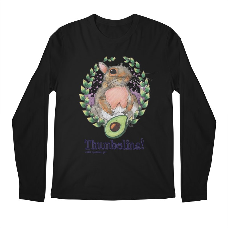 Thumbelina Shirts! Men's Regular Longsleeve T-Shirt by Len Hernandez's Artist Shop