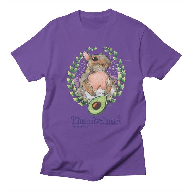 Thumbelina Shirts! Men's Regular T-Shirt by Len Hernandez's Artist Shop