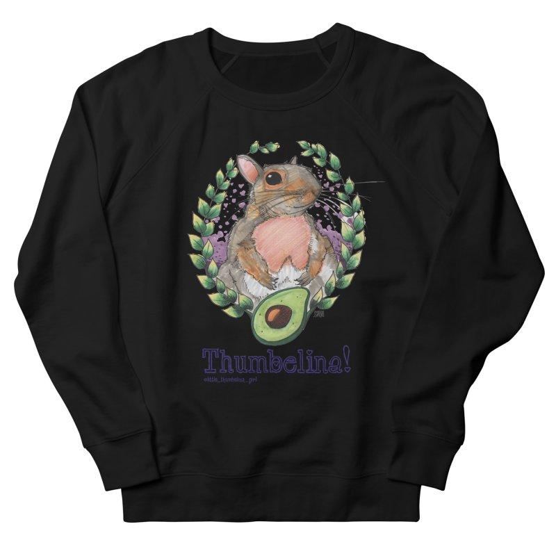 Thumbelina Shirts! Men's French Terry Sweatshirt by Len Hernandez's Artist Shop