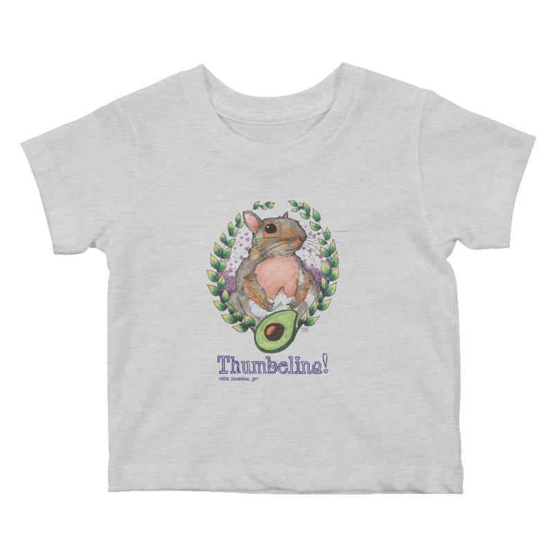 Thumbelina Shirts! Kids Baby T-Shirt by Len Hernandez's Artist Shop