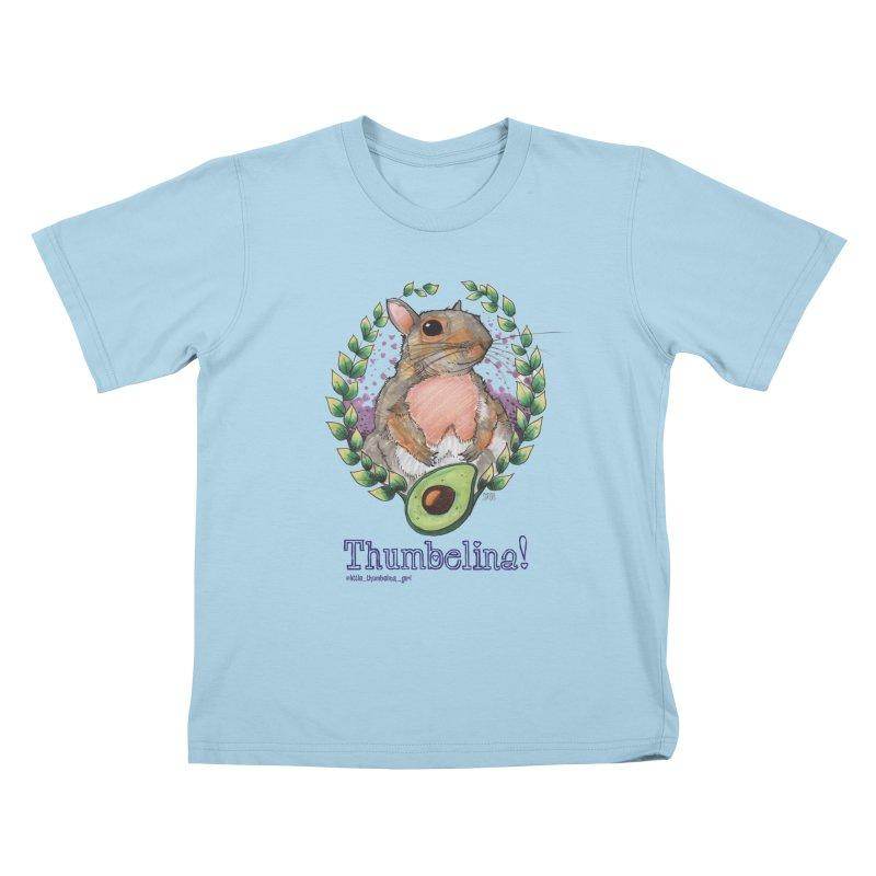 Thumbelina Shirts! Kids T-Shirt by Len Hernandez's Artist Shop