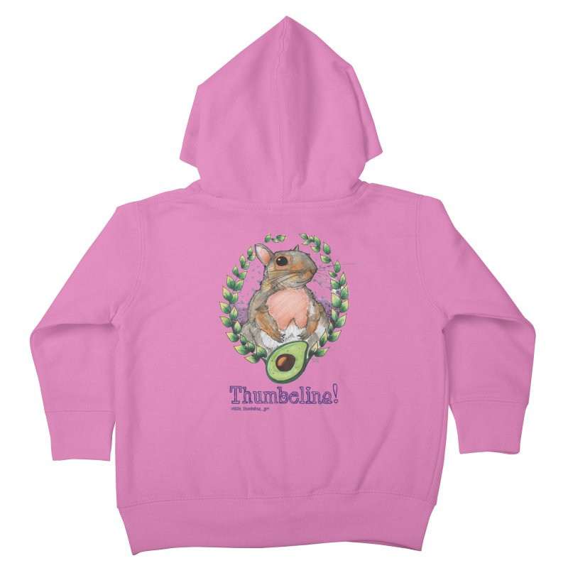 Thumbelina Shirts! Kids Toddler Zip-Up Hoody by Len Hernandez's Artist Shop