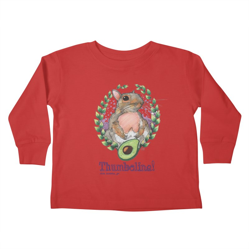Thumbelina Shirts! Kids Toddler Longsleeve T-Shirt by Len Hernandez's Artist Shop