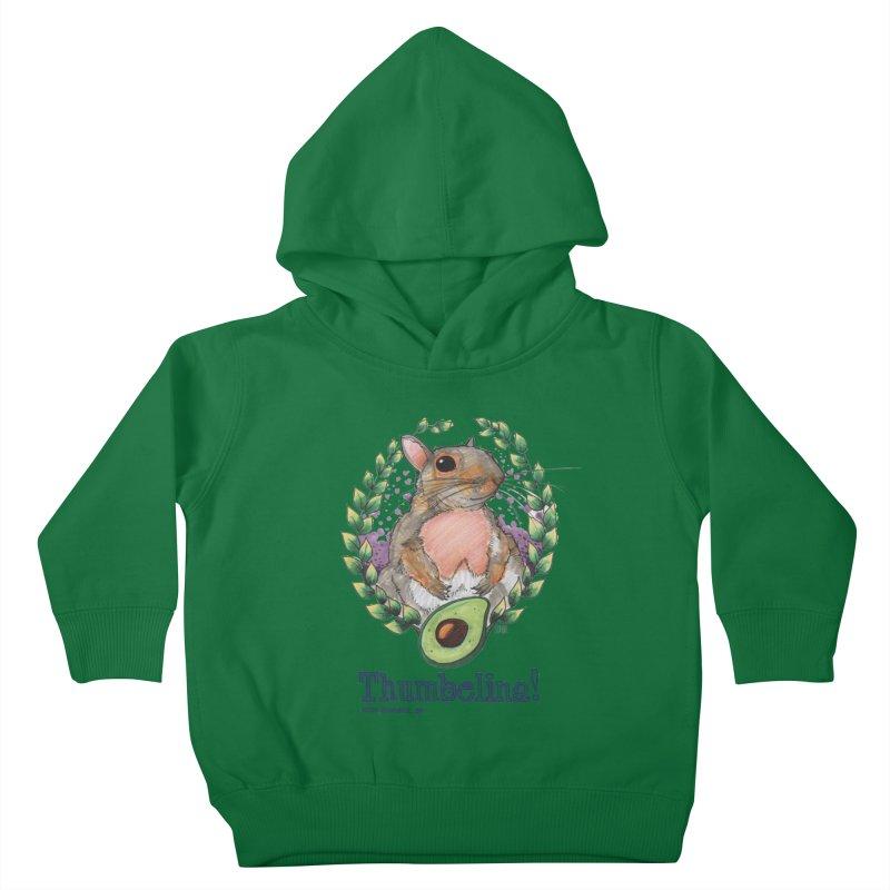 Thumbelina Shirts! Kids Toddler Pullover Hoody by Len Hernandez's Artist Shop