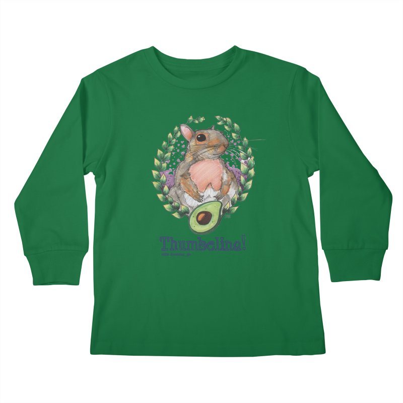 Thumbelina Shirts! Kids Longsleeve T-Shirt by Len Hernandez's Artist Shop