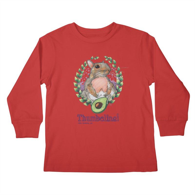 Thumbelina Shirts! Kids Longsleeve T-Shirt by Len Hernandez's Artist Shop