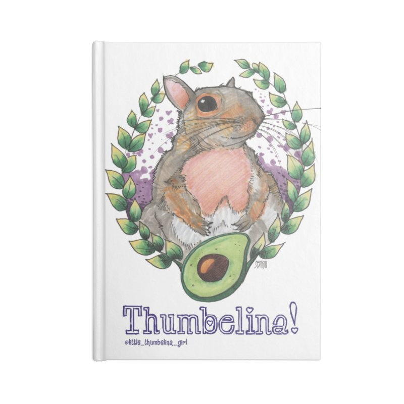 Thumb Prints! Accessories Lined Journal Notebook by Len Hernandez's Artist Shop
