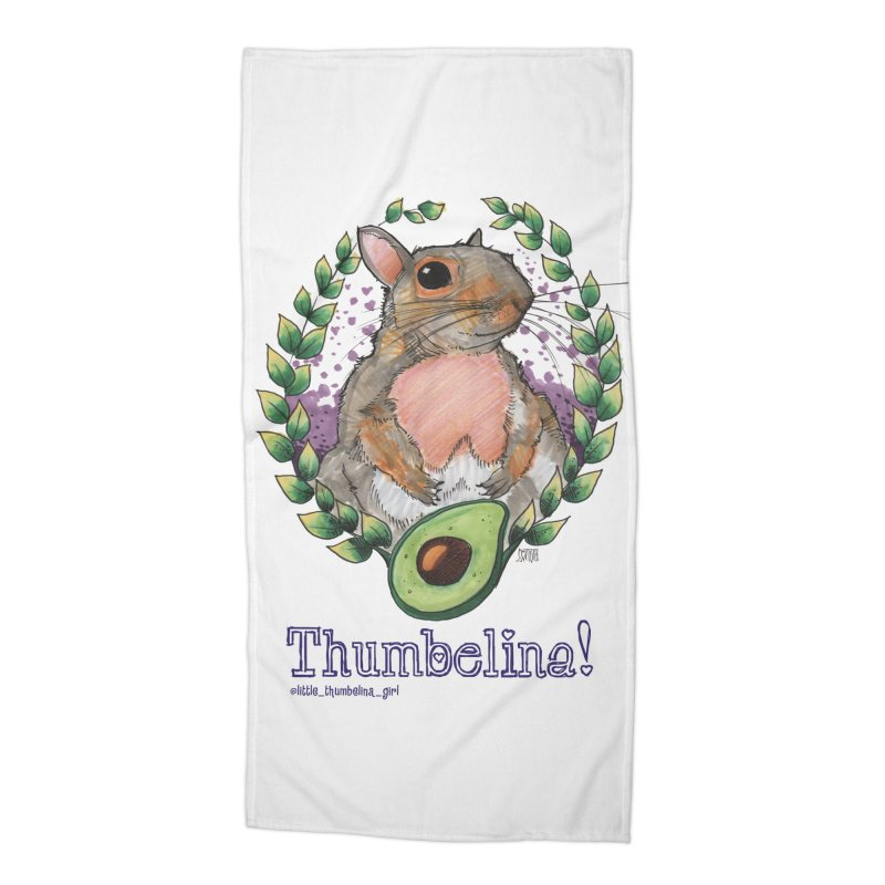 Thumb Prints! Accessories Beach Towel by Len Hernandez's Artist Shop