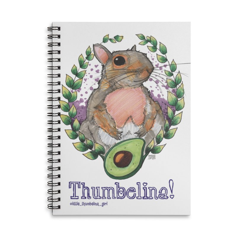 Thumb Prints! Accessories Lined Spiral Notebook by Len Hernandez's Artist Shop
