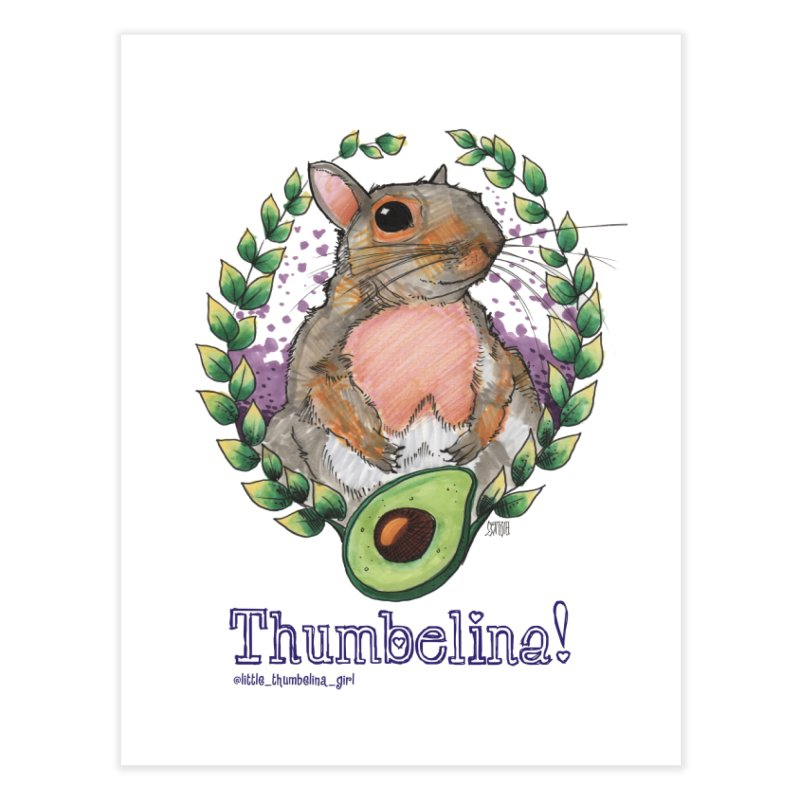 Thumb Prints! Home Fine Art Print by Len Hernandez's Artist Shop