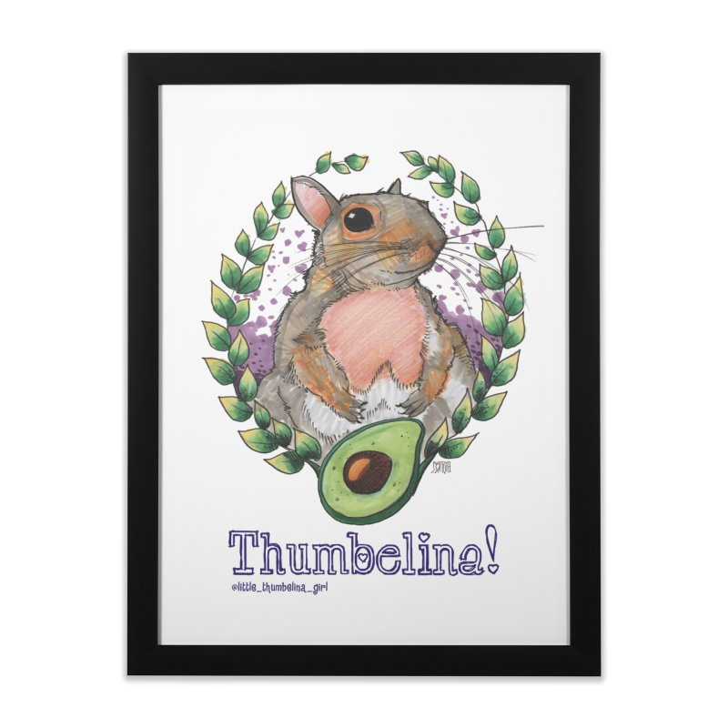 Thumb Prints! Home Framed Fine Art Print by Len Hernandez's Artist Shop