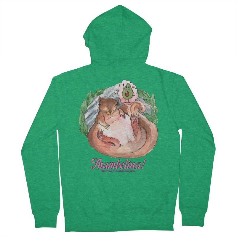 "Clothing - ""Sweet Dreams for Thumbelina"" Women's Zip-Up Hoody by Len Hernandez's Artist Shop"